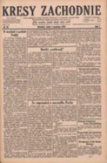 Kresy Zachodnie: pismo poświęcone obronie interesów narodowych na zachodnich ziemiach Polski 1929.04.03 R.7 Nr76