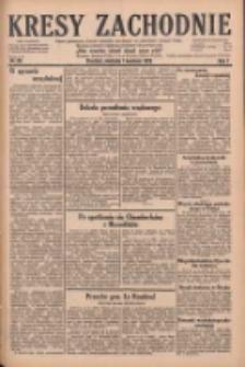 Kresy Zachodnie: pismo poświęcone obronie interesów narodowych na zachodnich ziemiach Polski 1929.04.07 R.7 Nr80