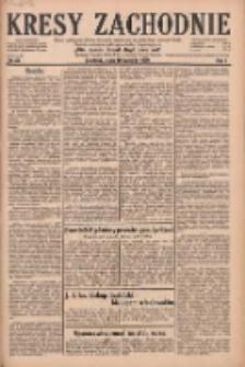 Kresy Zachodnie: pismo poświęcone obronie interesów narodowych na zachodnich ziemiach Polski 1929.04.10 R.7 Nr82