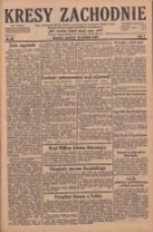Kresy Zachodnie: pismo poświęcone obronie interesów narodowych na zachodnich ziemiach Polski 1929.04.18 R.7 Nr89