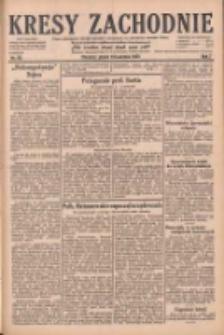 Kresy Zachodnie: pismo poświęcone obronie interesów narodowych na zachodnich ziemiach Polski 1929.04.19 R.7 Nr90