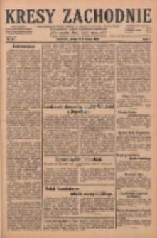 Kresy Zachodnie: pismo poświęcone obronie interesów narodowych na zachodnich ziemiach Polski 1929.04.20 R.7 Nr91