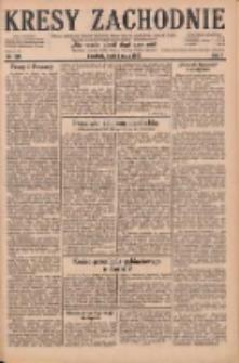 Kresy Zachodnie: pismo poświęcone obronie interesów narodowych na zachodnich ziemiach Polski 1929.05.01 R.7 Nr100