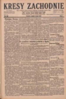 Kresy Zachodnie: pismo poświęcone obronie interesów narodowych na zachodnich ziemiach Polski 1929.05.03 R.7 Nr102