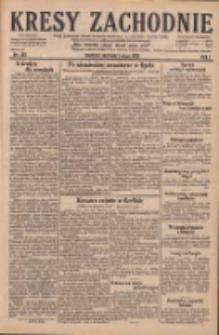 Kresy Zachodnie: pismo poświęcone obronie interesów narodowych na zachodnich ziemiach Polski 1929.05.05 R.7 Nr103