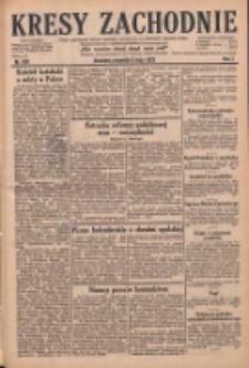 Kresy Zachodnie: pismo poświęcone obronie interesów narodowych na zachodnich ziemiach Polski 1929.05.09 R.7 Nr106