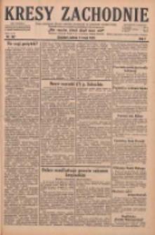 Kresy Zachodnie: pismo poświęcone obronie interesów narodowych na zachodnich ziemiach Polski 1929.05.11 R.7 Nr107