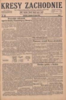 Kresy Zachodnie: pismo poświęcone obronie interesów narodowych na zachodnich ziemiach Polski 1929.05.12 R.7 Nr108