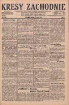 Kresy Zachodnie: pismo poświęcone obronie interesów narodowych na zachodnich ziemiach Polski 1929.05.18 R.7 Nr113