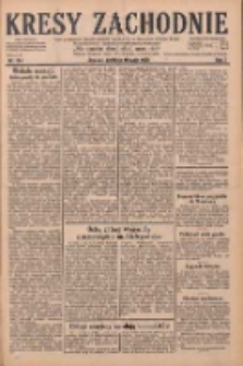 Kresy Zachodnie: pismo poświęcone obronie interesów narodowych na zachodnich ziemiach Polski 1929.05.19 R.7 Nr114