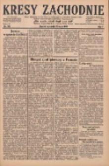 Kresy Zachodnie: pismo poświęcone obronie interesów narodowych na zachodnich ziemiach Polski 1929.05.23 R.7 Nr116