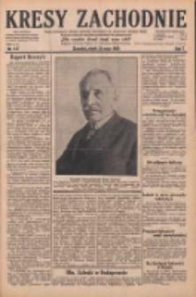 Kresy Zachodnie: pismo poświęcone obronie interesów narodowych na zachodnich ziemiach Polski 1929.05.24 R.7 Nr117
