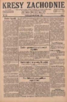 Kresy Zachodnie: pismo poświęcone obronie interesów narodowych na zachodnich ziemiach Polski 1929.05.26 R.7 Nr119