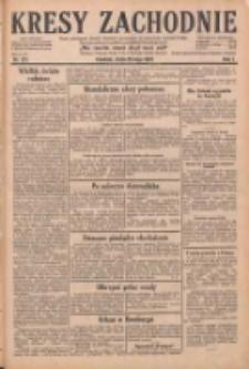 Kresy Zachodnie: pismo poświęcone obronie interesów narodowych na zachodnich ziemiach Polski 1929.05.29 R.7 Nr121