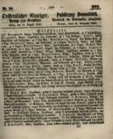 Oeffentlicher Anzeiger. 1860.08.21 Nro.34