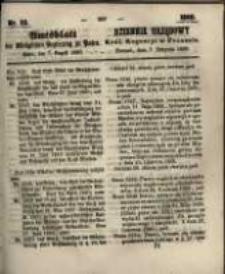 Amtsblatt der Königlichen Regierung zu Posen. 1860.08.07 Nro.32