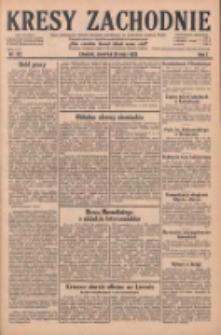 Kresy Zachodnie: pismo poświęcone obronie interesów narodowych na zachodnich ziemiach Polski 1929.05.30 R.7 Nr122