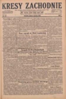 Kresy Zachodnie: pismo poświęcone obronie interesów narodowych na zachodnich ziemiach Polski 1929.06.01 R.7 Nr123