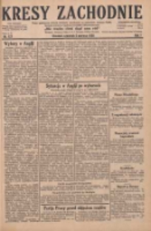Kresy Zachodnie: pismo poświęcone obronie interesów narodowych na zachodnich ziemiach Polski 1929.06.06 R.7 Nr127
