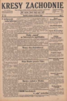 Kresy Zachodnie: pismo poświęcone obronie interesów narodowych na zachodnich ziemiach Polski 1929.06.13 R.7 Nr133