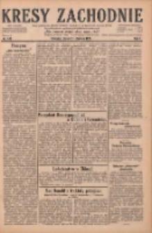 Kresy Zachodnie: pismo poświęcone obronie interesów narodowych na zachodnich ziemiach Polski 1929.06.21 R.7 Nr140