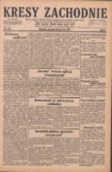 Kresy Zachodnie: pismo poświęcone obronie interesów narodowych na zachodnich ziemiach Polski 1929.06.23 R.7 Nr142