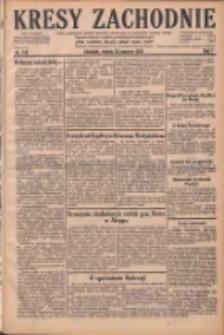 Kresy Zachodnie: pismo poświęcone obronie interesów narodowych na zachodnich ziemiach Polski 1929.06.25 R.7 Nr143