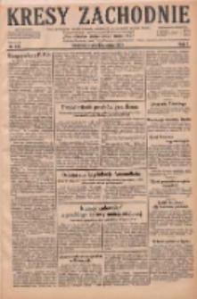 Kresy Zachodnie: pismo poświęcone obronie interesów narodowych na zachodnich ziemiach Polski 1929.06.26 R.7 Nr144