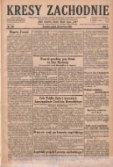 Kresy Zachodnie: pismo poświęcone obronie interesów narodowych na zachodnich ziemiach Polski 1929.06.28 R.7 Nr146