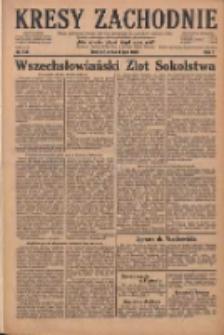 Kresy Zachodnie: pismo poświęcone obronie interesów narodowych na zachodnich ziemiach Polski 1929.07.03 R.7 Nr149
