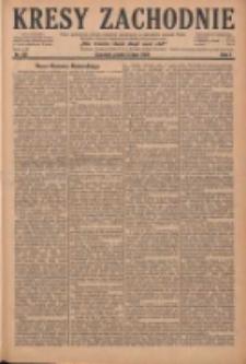 Kresy Zachodnie: pismo poświęcone obronie interesów narodowych na zachodnich ziemiach Polski 1929.07.05 R.7 Nr151