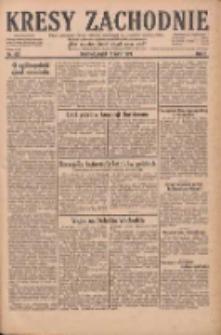 Kresy Zachodnie: pismo poświęcone obronie interesów narodowych na zachodnich ziemiach Polski 1929.07.19 R.7 Nr163