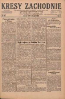Kresy Zachodnie: pismo poświęcone obronie interesów narodowych na zachodnich ziemiach Polski 1929.07.23 R.7 Nr166