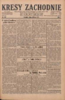 Kresy Zachodnie: pismo poświęcone obronie interesów narodowych na zachodnich ziemiach Polski 1929.07.26 R.7 Nr169