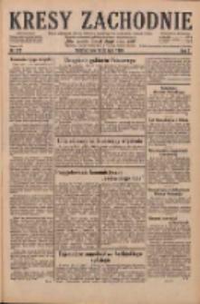 Kresy Zachodnie: pismo poświęcone obronie interesów narodowych na zachodnich ziemiach Polski 1929.07.30 R.7 Nr172