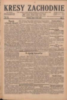 Kresy Zachodnie: pismo poświęcone obronie interesów narodowych na zachodnich ziemiach Polski 1929.07.31 R.7 Nr173