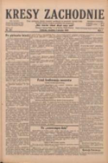 Kresy Zachodnie: pismo poświęcone obronie interesów narodowych na zachodnich ziemiach Polski 1929.08.04 R.7 Nr177
