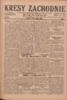 Kresy Zachodnie: pismo poświęcone obronie interesów narodowych na zachodnich ziemiach Polski 1929.08.07 R.7 Nr179