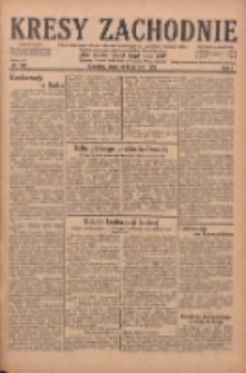 Kresy Zachodnie: pismo poświęcone obronie interesów narodowych na zachodnich ziemiach Polski 1929.08.08 R.7 Nr180