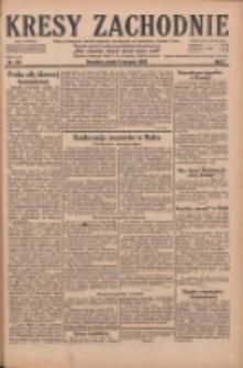 Kresy Zachodnie: pismo poświęcone obronie interesów narodowych na zachodnich ziemiach Polski 1929.08.09 R.7 Nr181