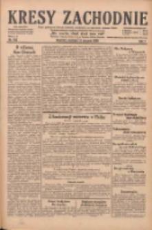 Kresy Zachodnie: pismo poświęcone obronie interesów narodowych na zachodnich ziemiach Polski 1929.08.11 R.7 Nr183