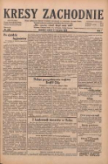 Kresy Zachodnie: pismo poświęcone obronie interesów narodowych na zachodnich ziemiach Polski 1929.08.17 R.7 Nr187