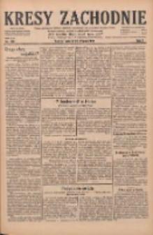 Kresy Zachodnie: pismo poświęcone obronie interesów narodowych na zachodnich ziemiach Polski 1929.08.20 R.7 Nr189