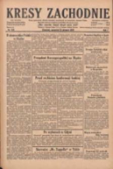 Kresy Zachodnie: pismo poświęcone obronie interesów narodowych na zachodnich ziemiach Polski 1929.08.22 R.7 Nr191