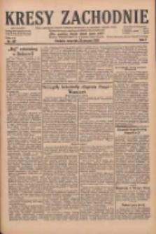 Kresy Zachodnie: pismo poświęcone obronie interesów narodowych na zachodnich ziemiach Polski 1929.08.29 R.7 Nr197