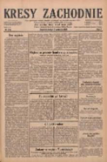 Kresy Zachodnie: pismo poświęcone obronie interesów narodowych na zachodnich ziemiach Polski 1929.09.18 R.7 Nr214