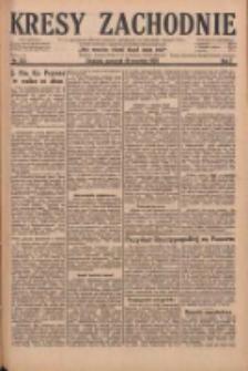 Kresy Zachodnie: pismo poświęcone obronie interesów narodowych na zachodnich ziemiach Polski 1929.09.19 R.7 Nr215
