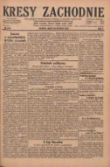 Kresy Zachodnie: pismo poświęcone obronie interesów narodowych na zachodnich ziemiach Polski 1929.09.20 R.7 Nr216