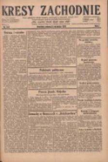Kresy Zachodnie: pismo poświęcone obronie interesów narodowych na zachodnich ziemiach Polski 1929.09.21 R.7 Nr217