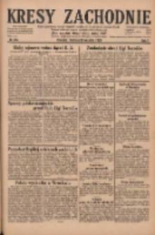 Kresy Zachodnie: pismo poświęcone obronie interesów narodowych na zachodnich ziemiach Polski 1929.09.29 R.7 Nr224